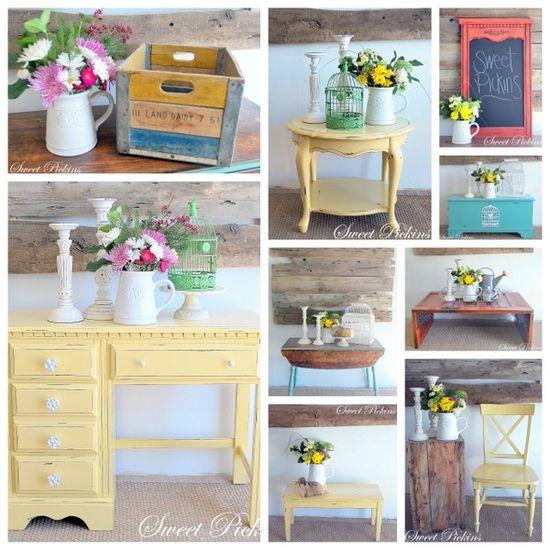Vintage furniture ideas