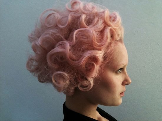pink hair standard