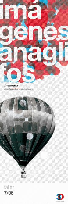 3D Cinema - Graphic Design: by Natacha Forciniti