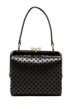 Dot Framed Handbag - FashionFilmsNYC.com