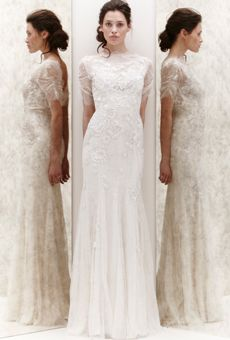 Brides: Lace Wedding Dresses from Spring 2013