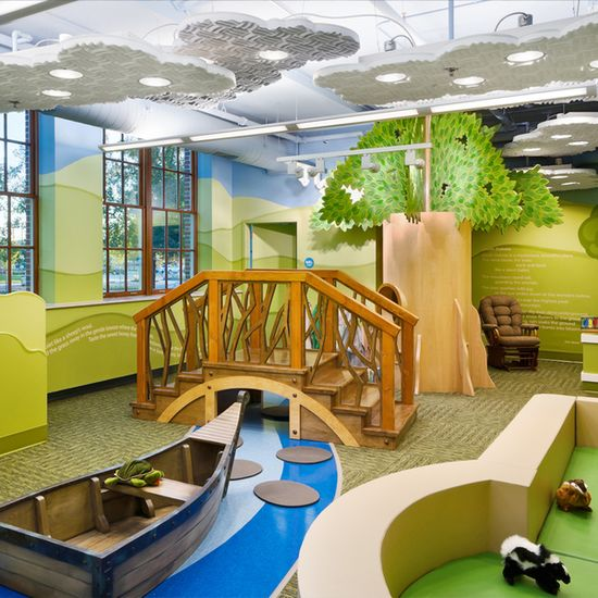 Children's Museum South Dakota, Brookings, South Dakota, USAChildren's Museum of South Dakota, Brookings, South Dakota  Prudent members of the architectural and design team for the Children's Museum of South Dakota involved an acoustical engineer who suggested sound-absorptive products from pinta...