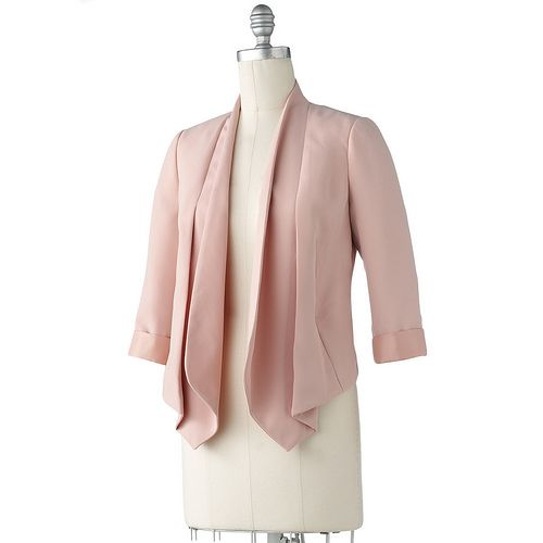 LC Lauren Conrad Cropped Jacket #Spring
