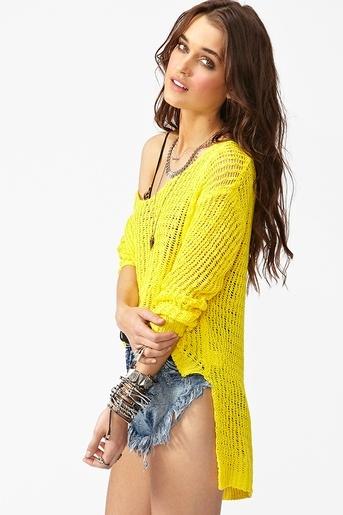 Camden Knit - Yellow