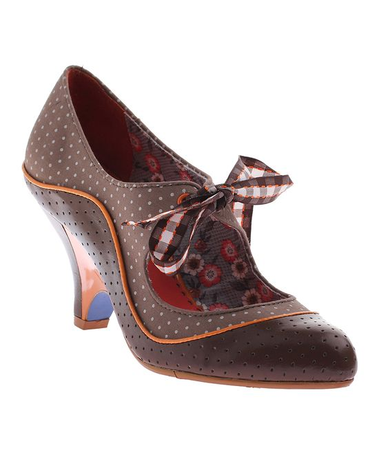 School's Out Oxford Pump   I am obsessed with this shoe