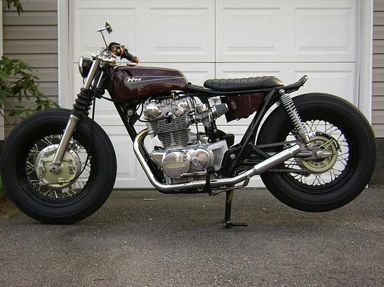 1974 Honda CB450 Brat