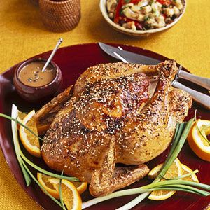 Szechuan Roasted Chicken with Stuffing