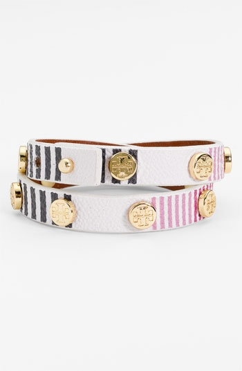 Tory Burch Logo Wrap Bracelet available at #Nordstrom