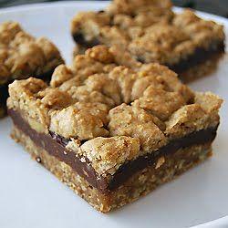 chocolate oatmeal bars