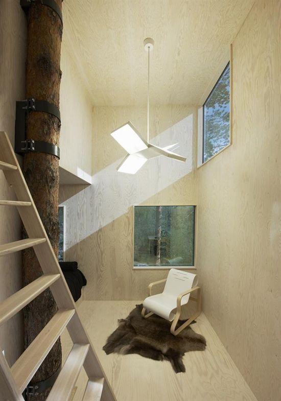 Tree Hotel, Harads, Sweden by Tham & Videgård Arkitekter