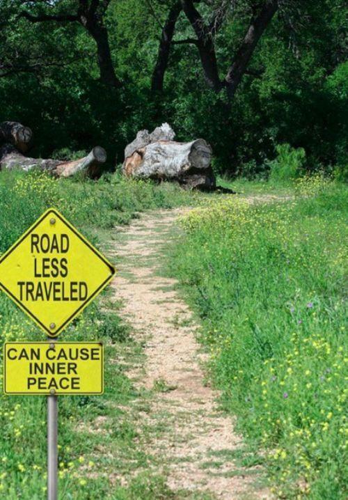 Road Less Traveled...