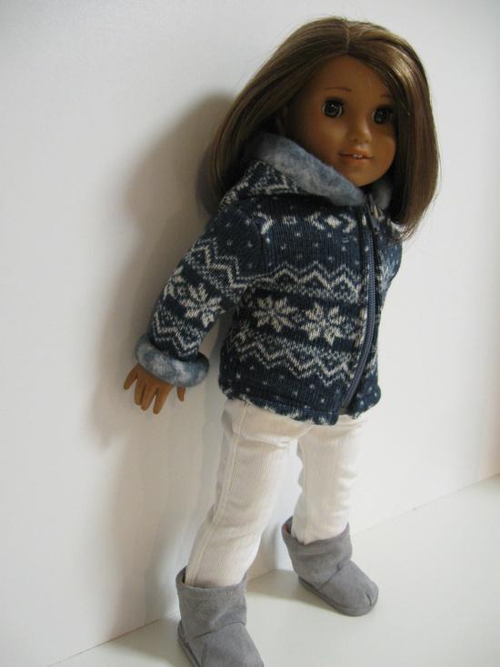 American Girl Doll -Fall Stroll. $33.00, via Etsy.