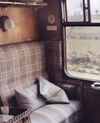 Travel by train. Photo by Sarah Maingot.