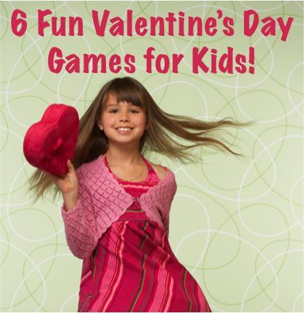 6 Fun Valentine's Day Games for Kids!  #valentines #day #activities