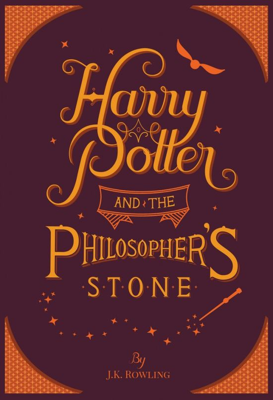 Harry Potter and the Philosopher's Stone Book Cover Redesign