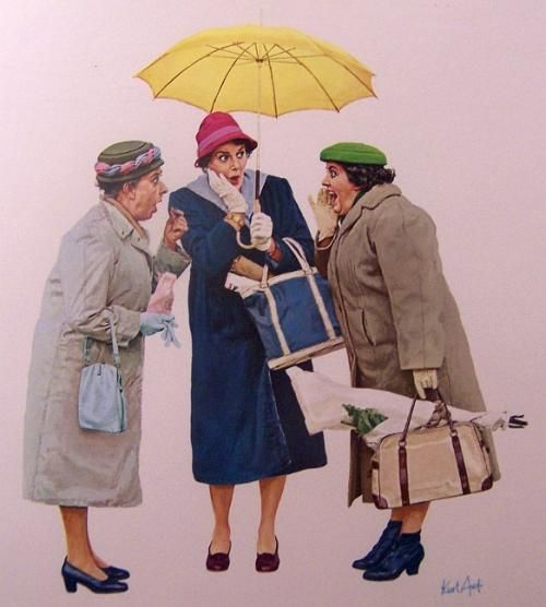 Gossiping...Kurt Ard