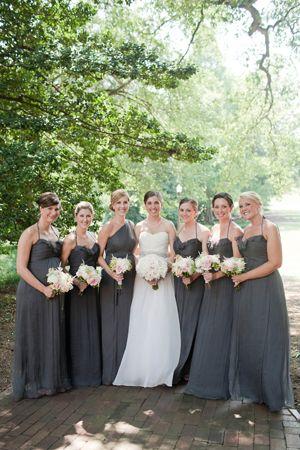 girls in gray