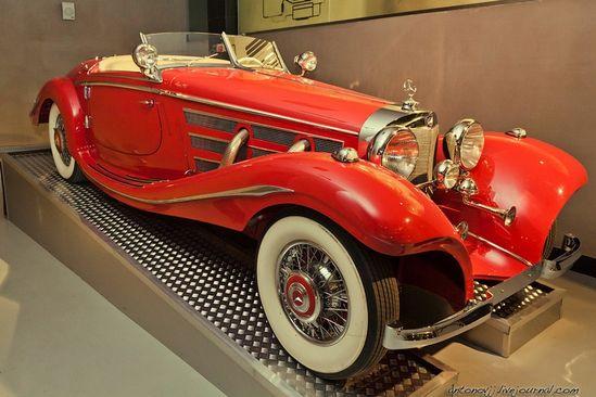 Mercedes-Benz 540K, 1936.
