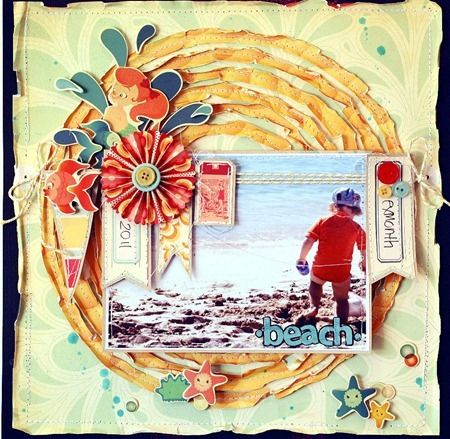 Awesome page. #scrapbooking #layouts