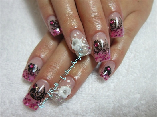 Flower Garden - Nail Art Gallery by NAILS Magazine