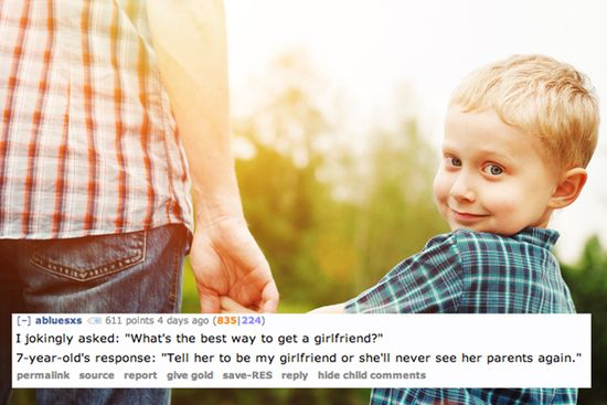 The 13 Creepiest Things A Child Has Ever Said To A Parent-- hahahaha