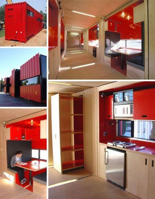 Unique house – container house ideas