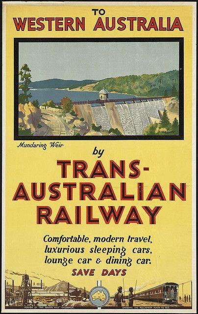 To Western Australia by Trans-Australian Railway by Boston Public Library, via Flickr