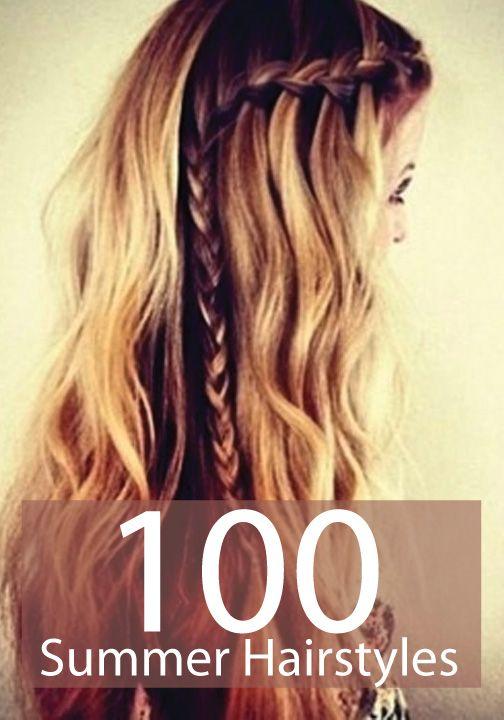 100 summer hair styles, yes please!