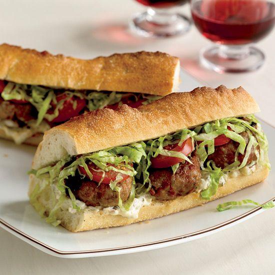 Spicy Pork Po'Boys // Affordable and Tasty Meat Recipes: www.foodandwine.c... #foodandwine