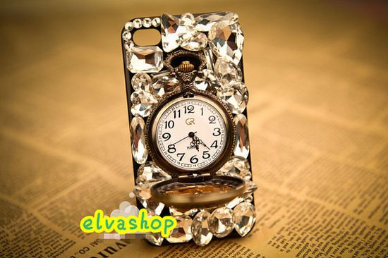Clocks and Watch  iphone 4 case/ iphone 4s case  by elvashop, $29.99