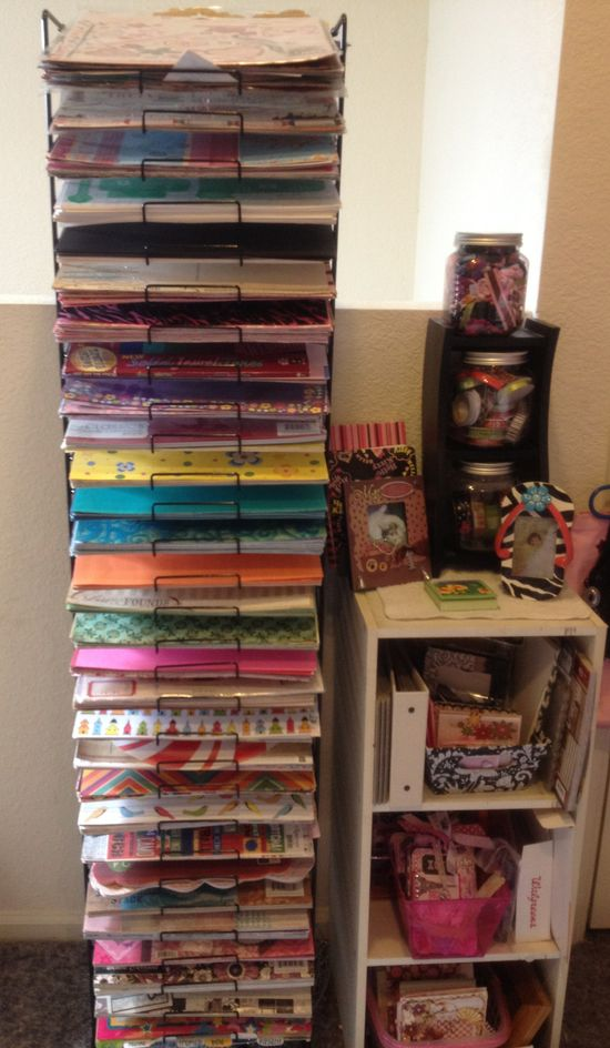 My new paper rack - Scrapbook.com