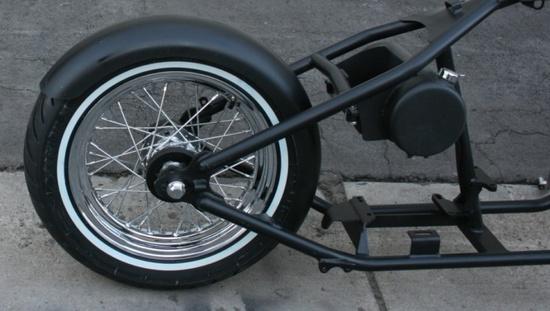 Custom Built Motorcycles : Bobber in Custom Built Motorcycles