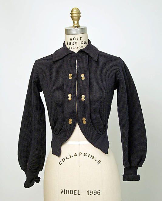 Wool Sweater 1950s, British