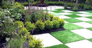 15 Garden Paving Ideas: Create a Showstopping Garden! - #Interior #Design #Blog