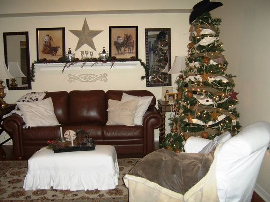 Christmas Living Room Design
