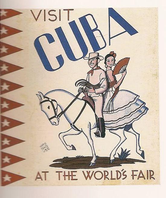 travel poster Cuba