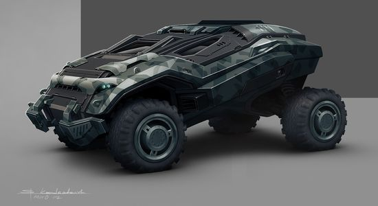 Military concept vehicle