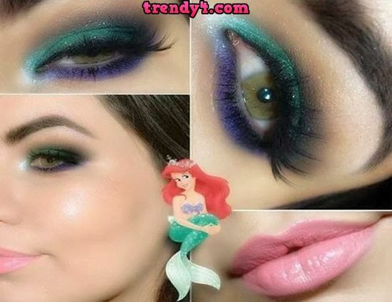 Simple Eye Makeup stylish 2014