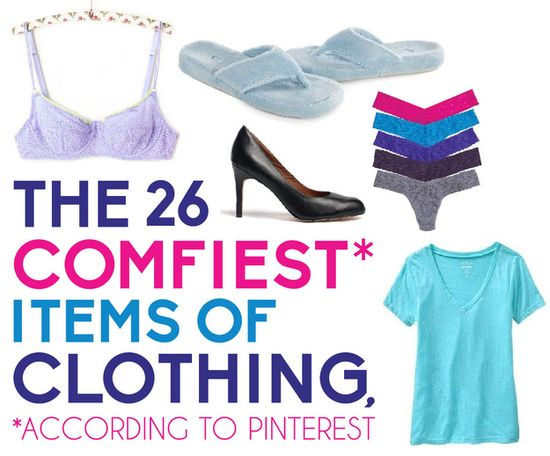 The 26 Comfiest Items Of Clothing Of All Time, According To Pinterest