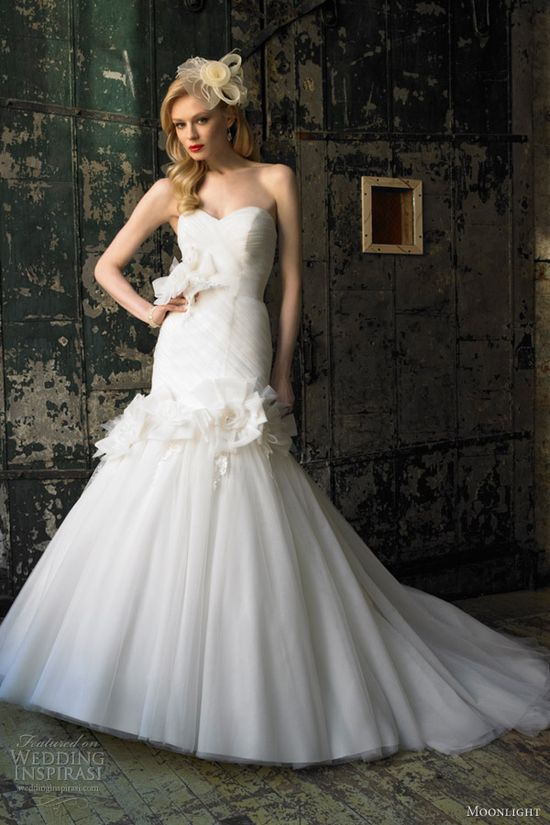 Moonlight Collection Fall 2012 Wedding Dresses