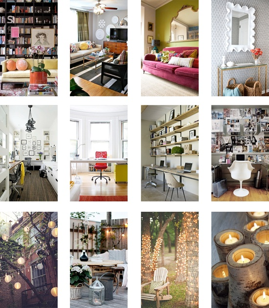 Apartment Life: Live & Work - Decor inspiration