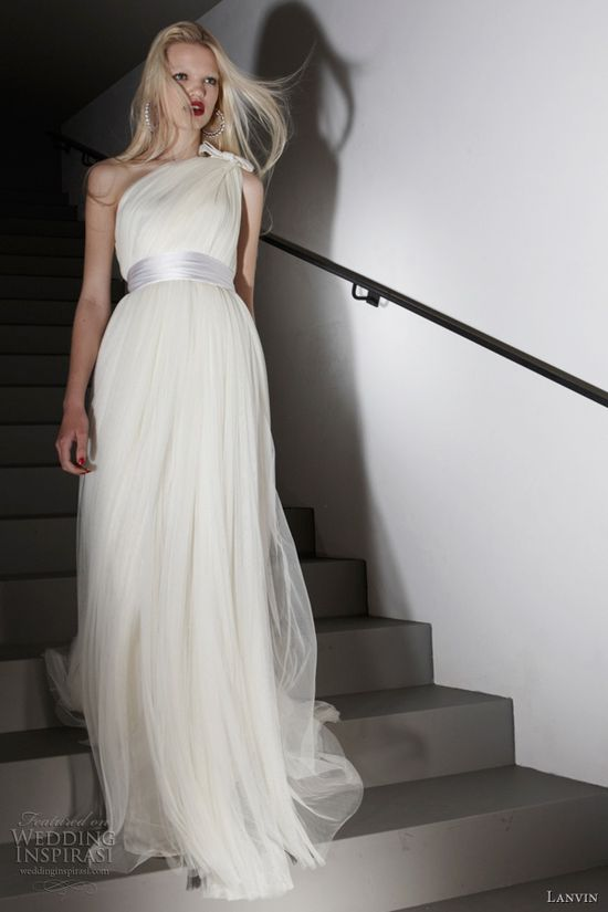 lanvin wedding dress 2012