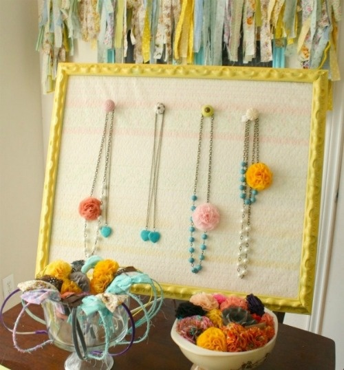 DIY jewelry display for craft show