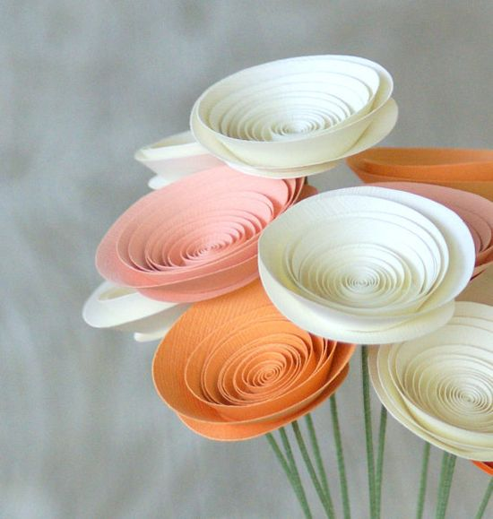 paper flower arrangements