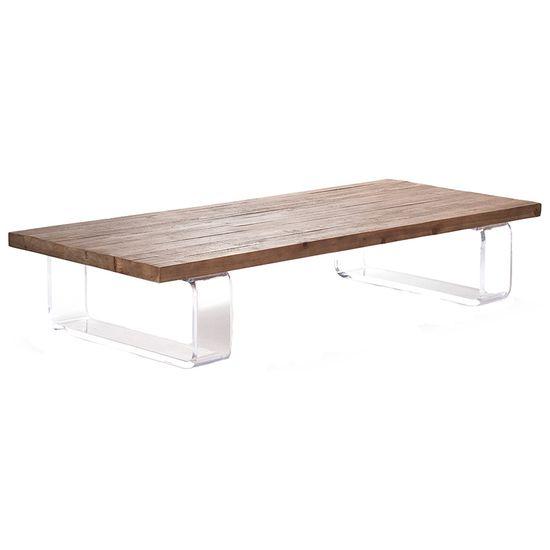 Zentique Acrylic Coffee Table @Zinc_Door #industrial #modern #rustic #furniture #table #zincdoor