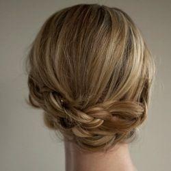 Pretty braided hair.