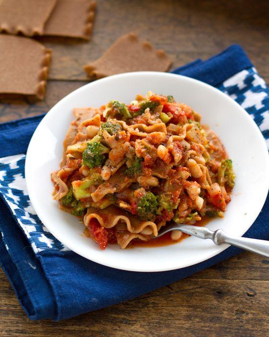 Stovetop Broccoli Lasagna