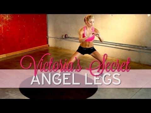 ? How to Get Legs Like a Victoria's Secret Angel Model - YouTube