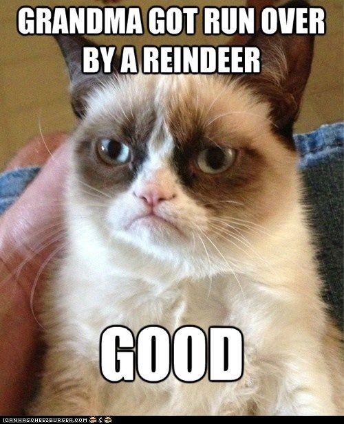 grumpy cat hahaha