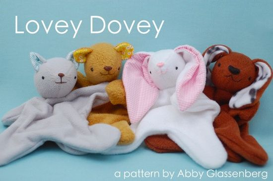 Lovey Dovey Softie  PDF Sewing Pattern by whileshenaps on Etsy, $9.00